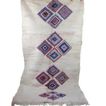 Boucherouite rug MARINE 1,20m x 2,35m