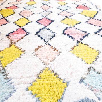 Boucherouite Teppich marokkanisch CANDY 1,15m x 2,05m