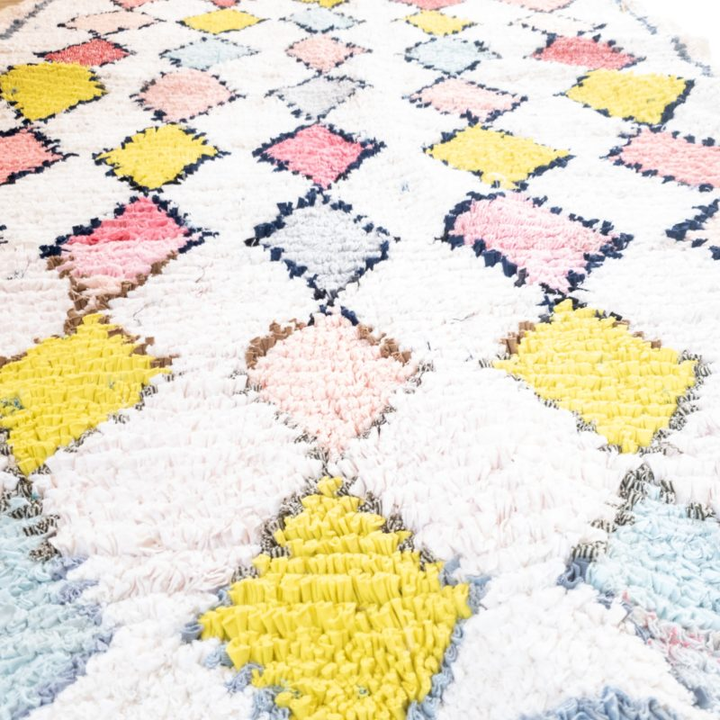 Boucherouite Teppich CANDY 1,15m x 2,05m