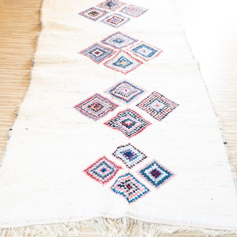 Boucherouite Teppich MARINE 1,20m x 2,35m