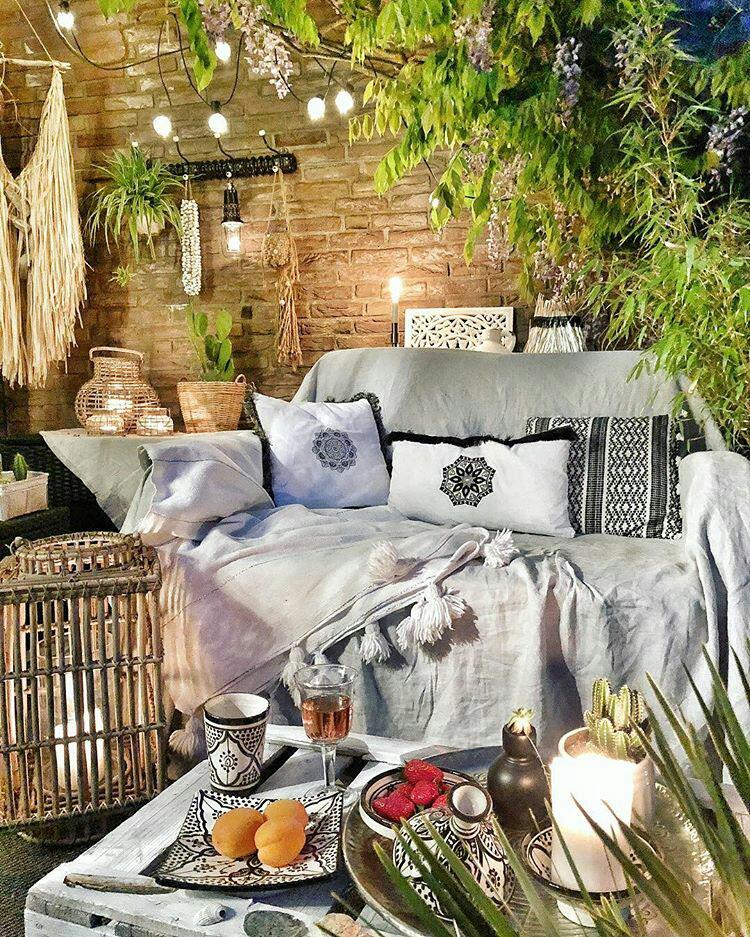Marokkanisches Geschirr in schwarz weiß - der Sommertrend 2018!
