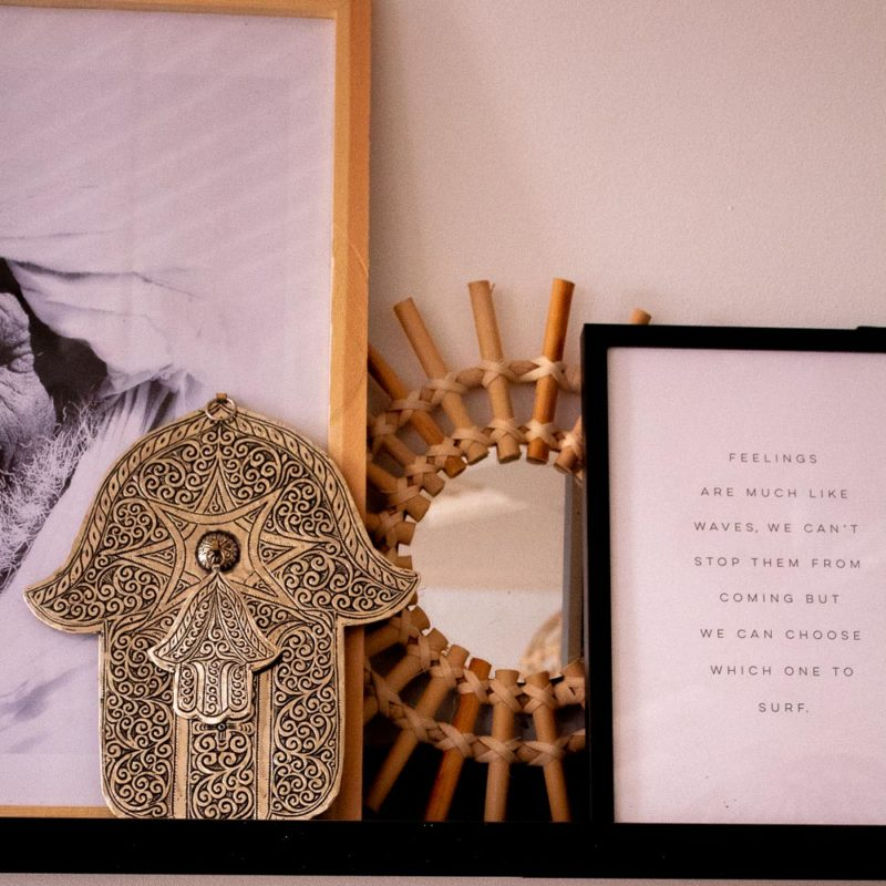 Hand der Fatima - marokkanischer Wanddekor