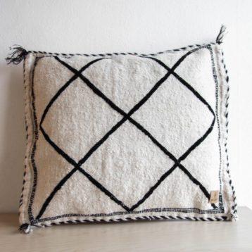 Beni Ourain cushions DIAMOND 45cm x 45cm