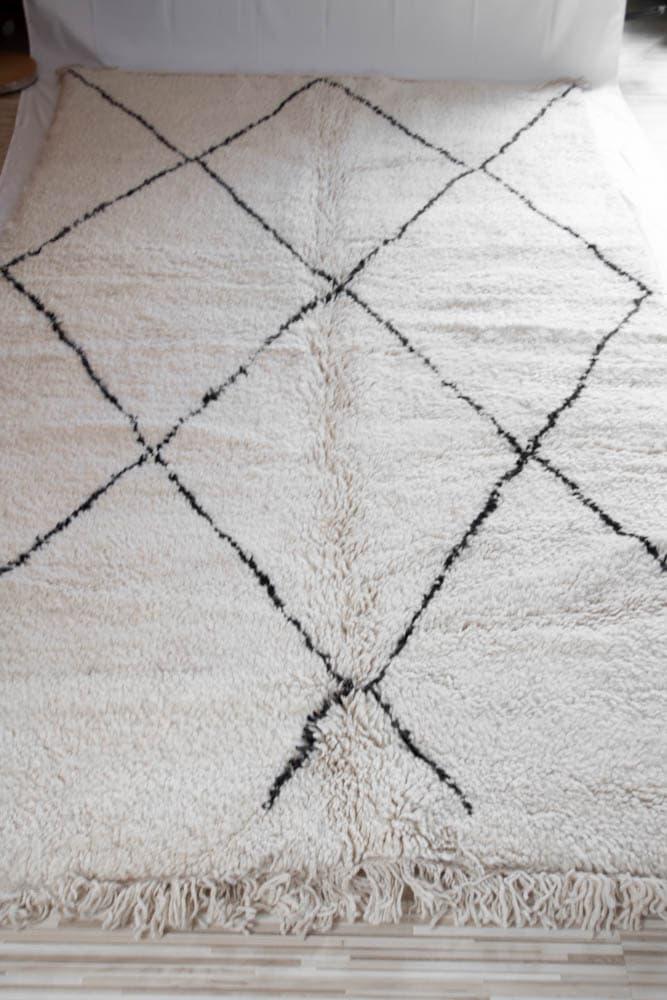 Beni Ourain Teppich N°2 150cm x 240cm