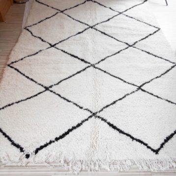 Beni Ourain rug 170cm x 240cm