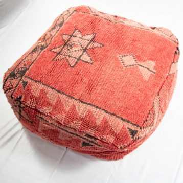 Vintage Boujad Seat cushion from Morocco