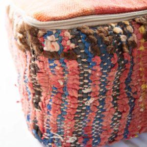 Vintage Boujad Berber Poufs
