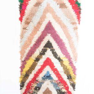 Flickenteppich bunt aus Marokko