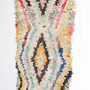 Bunter Teppich aus Marokko