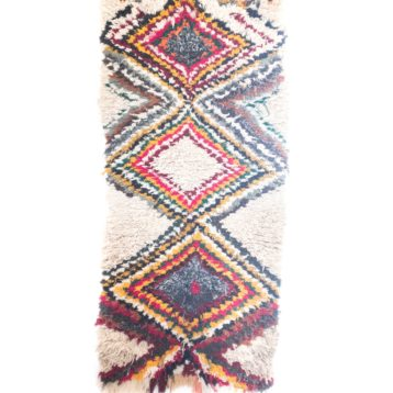 Moroccan Azilal rug N ° 1 0,80m x 1,60m