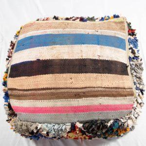 Vintage Berber Poufs