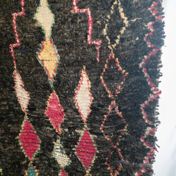 Vintage Teppich BLACK aus Marokko