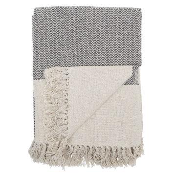 Bloomingville - Decke aus recycelter Baumwolle