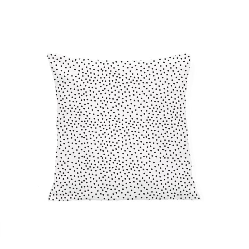 Leinen Kissen Punkte Eulenschnitt
