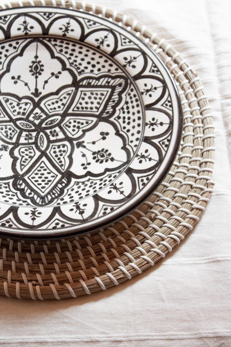 Tischset aus Seegras
