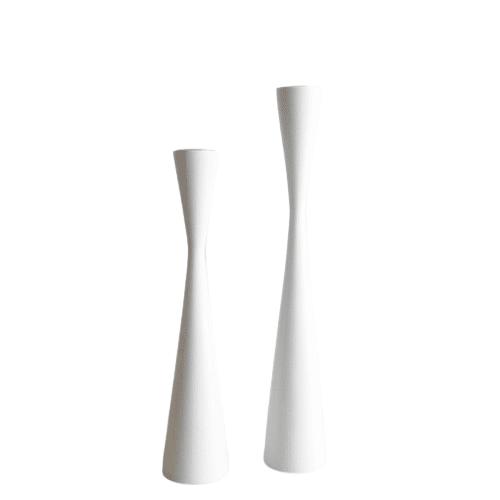 Kinta - Kerzenhalter Set WHITE
