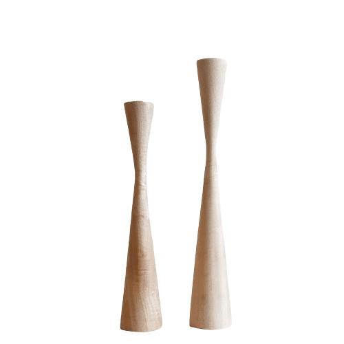 Kinta - Kerzenhalter Set WOOD