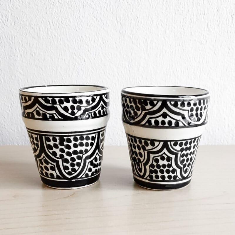 Marokkanische Espressotassen 2er-Set
