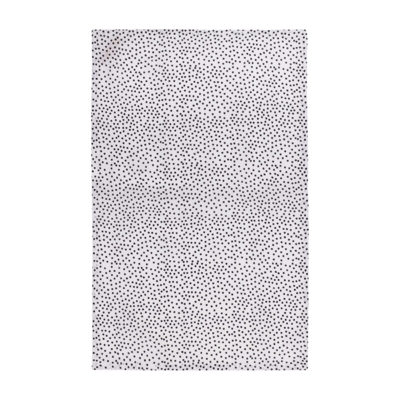 Eulenschnitt - Geschirrtuch 2er-Set aus Leinen mit Punkten