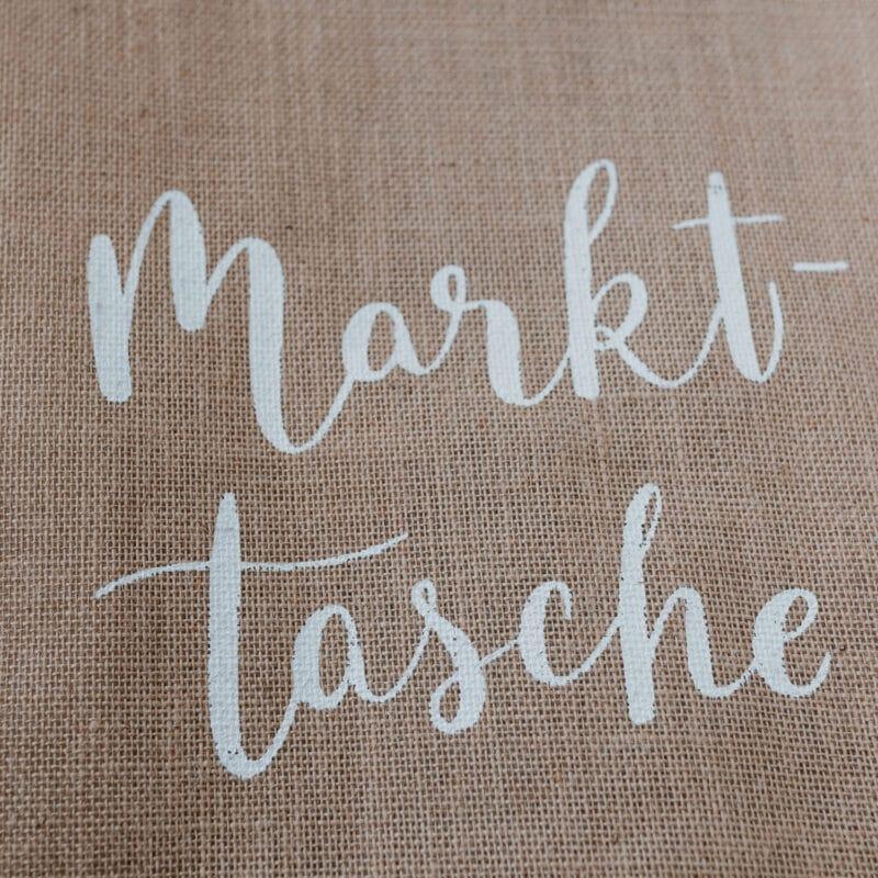 Eulenschnitt - Jute Shopper Markttasche